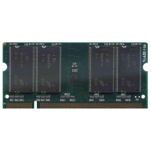 512MB 200p PC2700 CL2.5 8c 64x8 DDR333 2Rx8 2.5V SODIMM