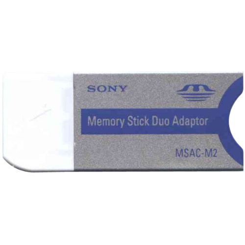 Sony MSAC-M2 0MB Memory Stick Duo and Pro Duo to Memory Stick and MSPro adapter Adapter
