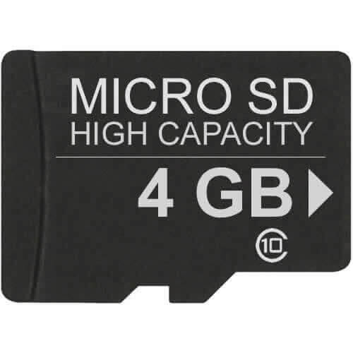 Gigaram MSDHC-4GB-10-JI CVP 4GB 8p MSDHC r16MB/s w10MB/s Class 10 micro Secure Digital High Capacity