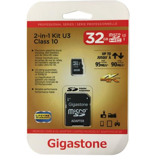 32GB 8p MSDHC r95MB/s w90MB/s Class 10 UHS-I U1 Professional Micro Secure Digital High Capacity Card
