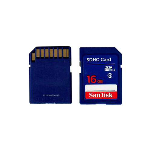 SanDisk SDSDB-016G CQZ 16GB 9p SDHC Class 4 Secure Digital High Capacity Card Bulk