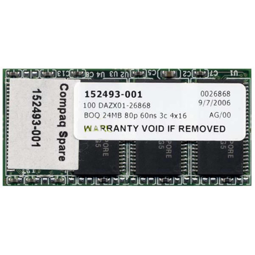 Compaq  24MB 80p 60ns 3c 4x16 EDO Flash Module