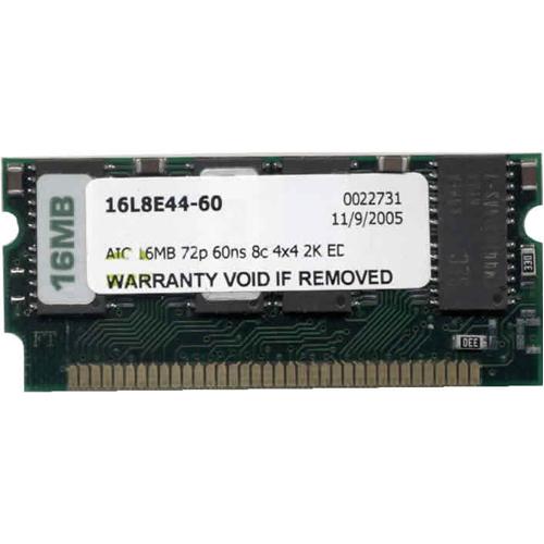 16MB 72p 60ns 8c 4x4 2K EDO 3.3v SODIMM