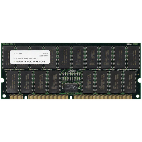 HP  256MB 168p 60ns 36c 16x4 4K Buffered ECC EDO DIMM
