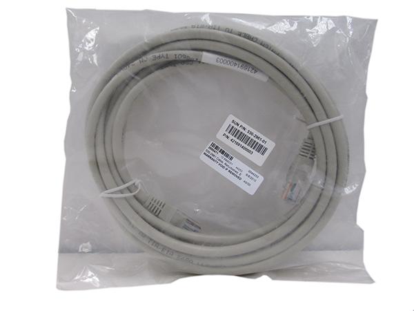 Refurbished, Ethernet, RJ45 to RJ45, RoHS:Y, 14ft., 530-2961