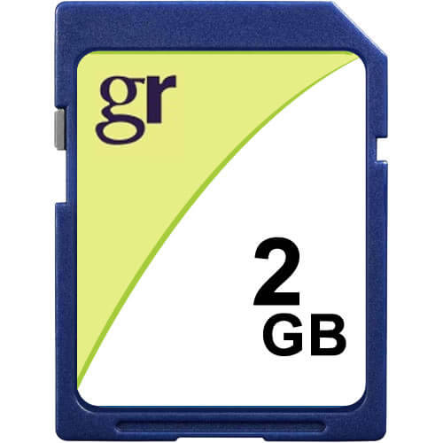 Gigaram SD-2GB-LI BXQ 2GB 9p SD r13MB/s w5MB/s with GR Label [SM2685+ MICRON] Secure Digital Cards b