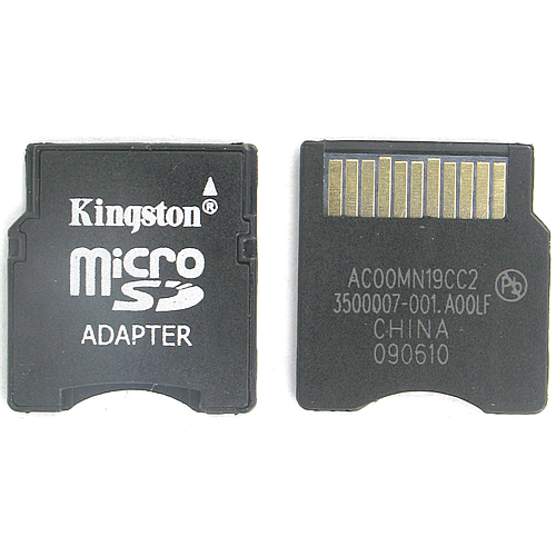 Kingston AC00MN19CC2 CQA 0MB Micro SD to Mini SD Adapter Bulk