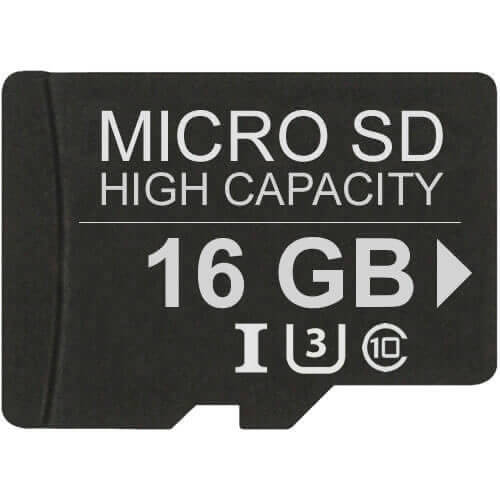 Gigaram MSDHC-16GB-JI CUQ 16GB 8p MSDHC r26MB/s w16MB/s Class 10 UHS-I U3 Micro Secure Digital High