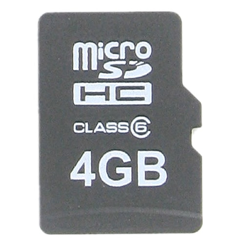 Delkin BBMICROSDPRO2-4GB CRF 4GB 8p MSDHC Class 6 Micro Secure Digital High Capacity Card Bulk