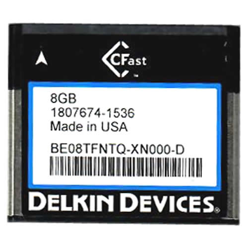 Delkin BE08TFNTQ-XN000-D 8GB CFAST Card Bulk