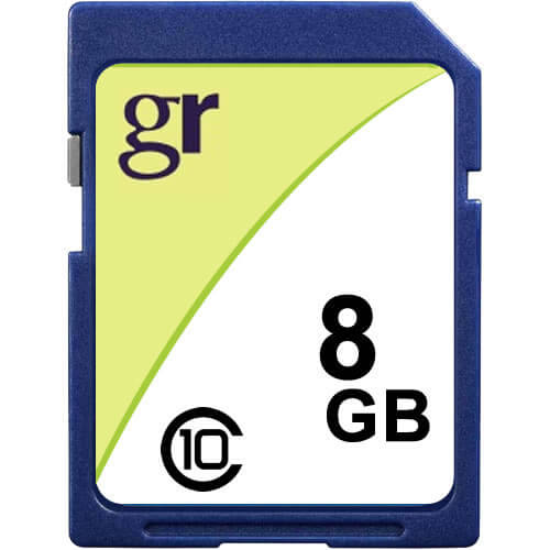 Gigaram SDHC-8GB-10-KO CQY 8GB 9p SDHC Class 10 r18MB/s w14MB/s [SM2683+SAM] with GR Label Secure Di