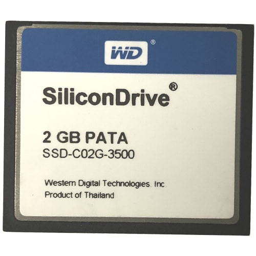 Western Digital SSD-C02G-3500 CBF 2GB 50p CompactFlash Card Commercial Bulk
