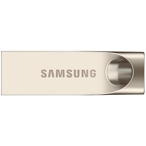 Samsung MUF-64BA CXG 64GB USB 3.0 Flash Drive r150MB/s Samsung Bar Metal Casing Bulk