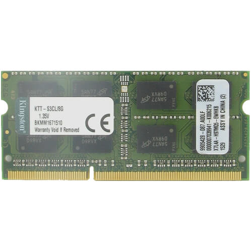 Kingston KTT-S3CL/8G CYX 8GB 204p PC3-12800 CL11 16c 512x8 DDR3-1600 2Rx8 1.35V SODIMM