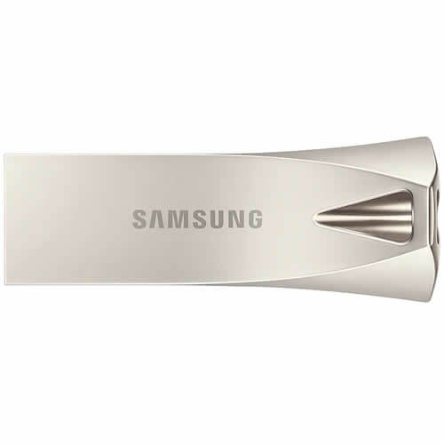 Samsung MUF-64BE3/EU CXG 64GB USB 3.1 Flash Drive r200MB/s Samsung Bar Plus Champagne Silver Casing