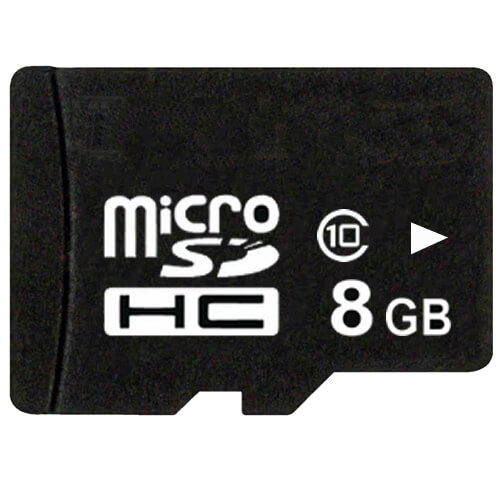 Gigaram MSDHC-8GB-10-KO CVQ 8GB 8p MSDHC Class 10 Micro Secure Digital High Capacity Card Bulk