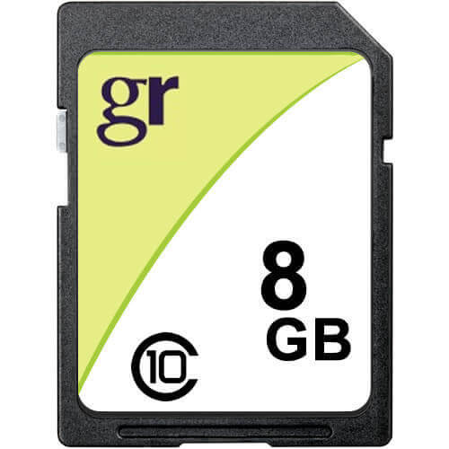 Gigaram SDHC-8GB-10-KO CQY 8GB 9p SDHC Class 10 r14MB/s w12MB/s [SM2683+Tosh] with GR Label Secure D