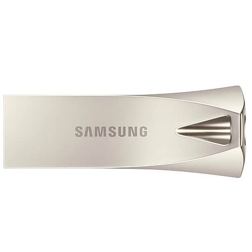 Samsung MUF-128BE3/EU MAH 128GB USB 3.1 Flash Drive r300MB/s Samsung Bar Plus Champagne Silver Casin