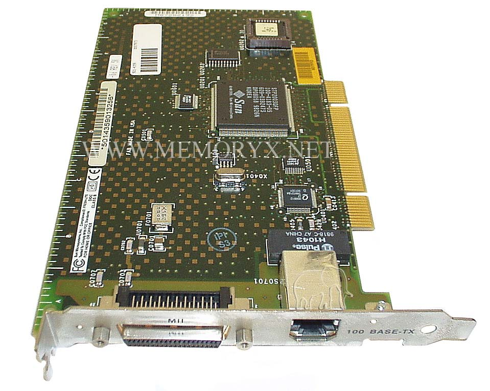 Card, Ethernet, PCI, FE/P, 40p-Mini Connector & 10Base-T, X1033A-NIB, 501-4359, 501-5019, X1033A