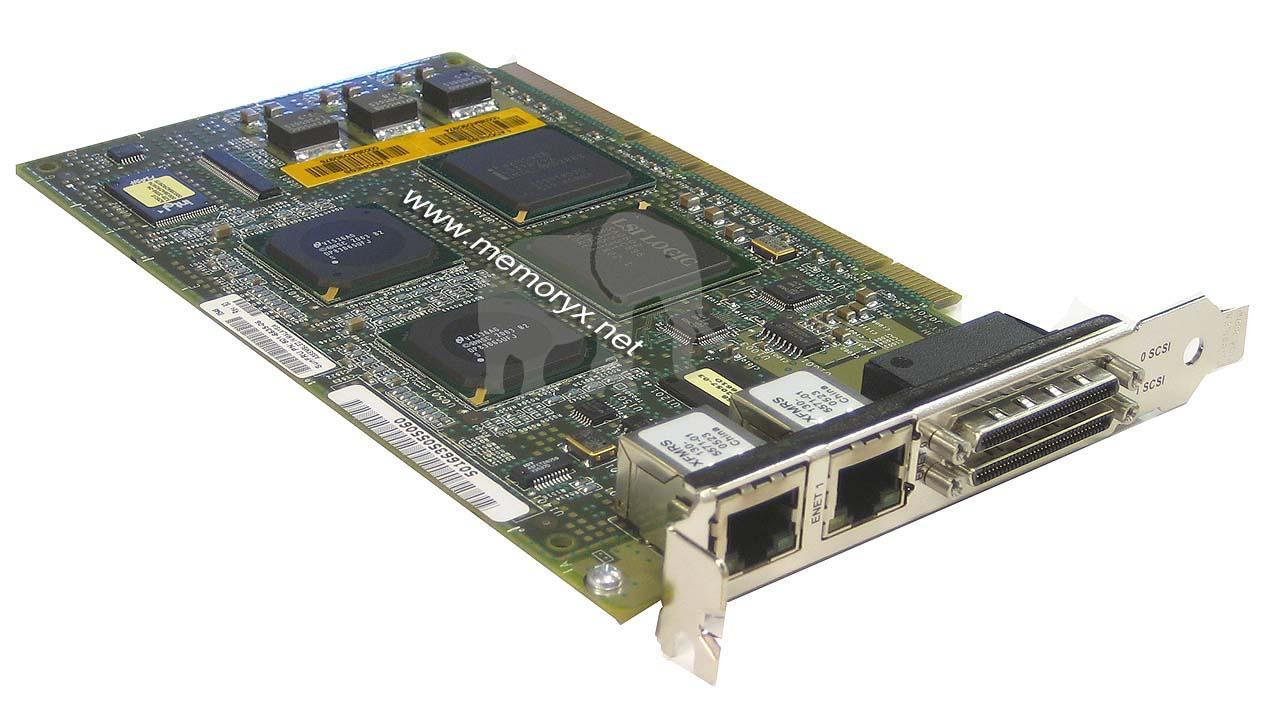 Card, Refurbished, GigabitEthernet & SCSI Ultra-2 PCI, Dual, 501-6635, X4422A