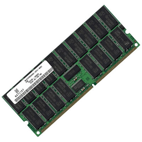 Gigaram  1GB 184p PC2100 CL2.5 36c 64x4 Registered ECC DDR DIMM T027 2in Tall