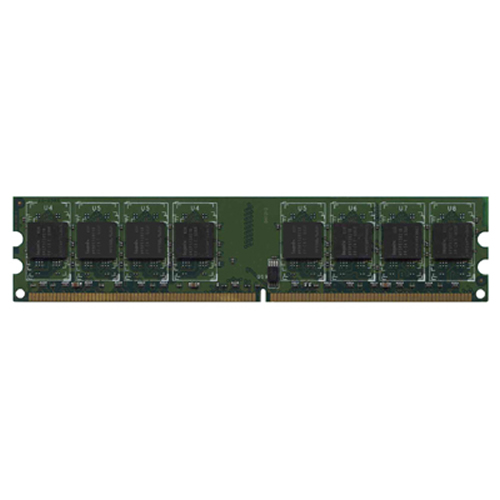 Gigaram  1GB 240p PC2-3200 CL3 16c 64x8 DDR2-400 2Rx8 1.8V UDIMM