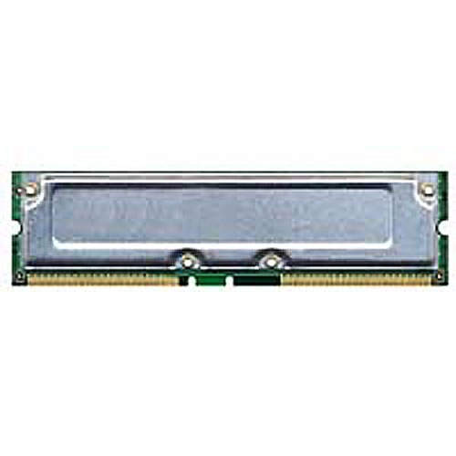 Kingston KVR800X16/128 ACM 128MB 184p PC800-45 4d nonECC RDRAM RIMM T003 RFB U.S
