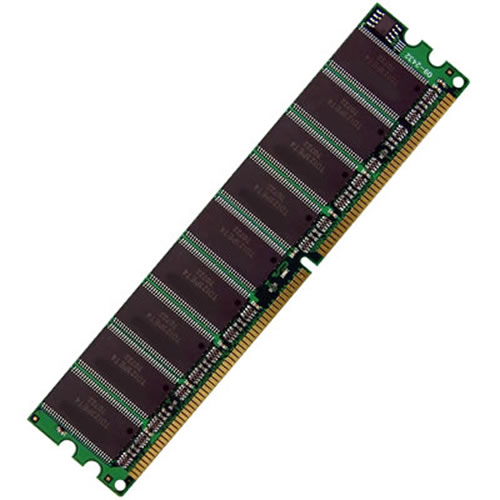 Kingston KVR333X64C25K2/256 128MB 184p PC2100 CL2.5 4c 16x16 DDR266 1Rx16 2.5V UDIMM 1/2 KIT