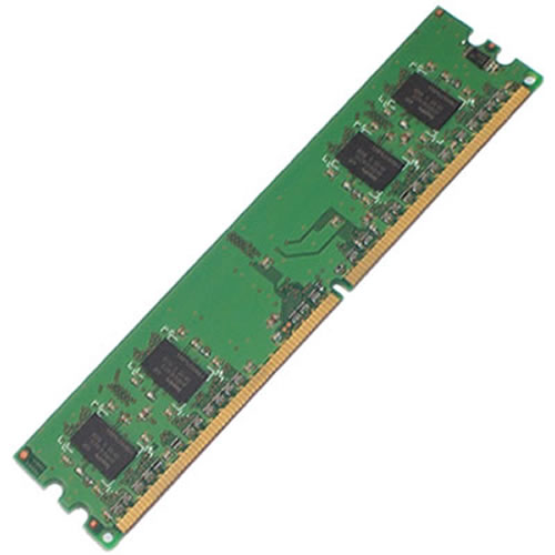 Gigaram  256MB 240p PC2-3200 CL3 4c 32x16 DDR2-400 DIMM T007