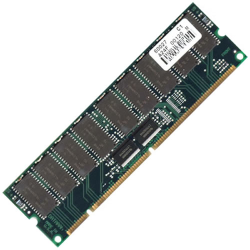 Gigaram  128MB 168p 60ns 16c 16x4 8K Buffered FPM 5V DIMM