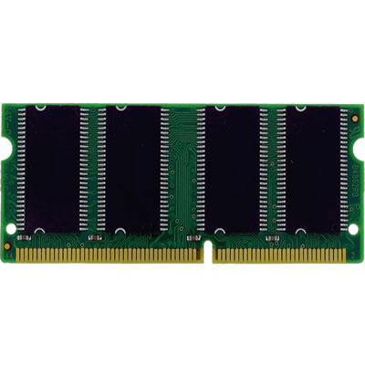 Gigaram  256MB 144p PC100 CL2 16c 32x4 SDRAM SODIMM Apple Conversion