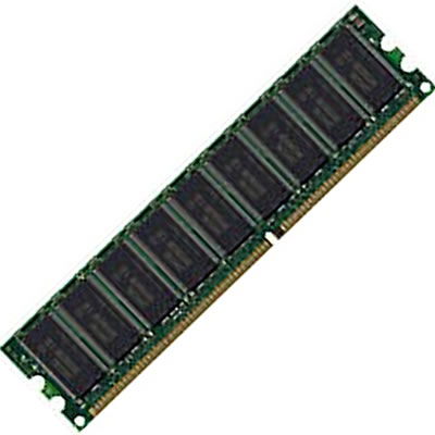 Gigaram  256MB 184p PC2100 CL2.5 18c 16x8 Registered ECC DDR DIMM