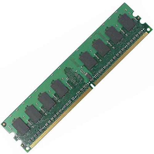 1GB 240p PC2-5300 CL5 16c 64x8 DDR2-667 2Rx8 1.8V UDIMM  RFB W/Mix label
