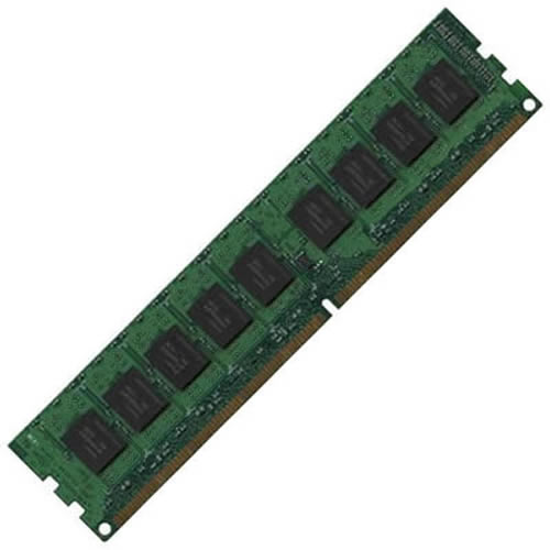 Kingston-Reprog KVR400D2E4/1G AFY 1GB 240p PC2-3200 CL3 18c 64x8 ECC DDR2-400 DIMM T007