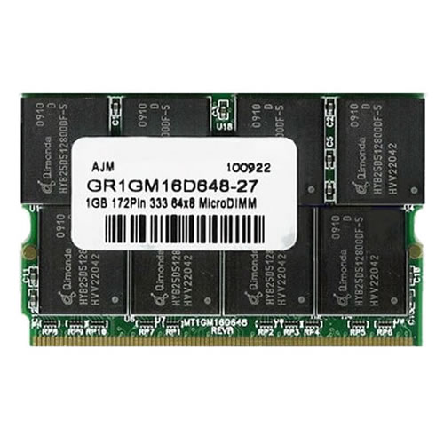 Gigaram AGB 512MB 172p PC2100 16c 32x8