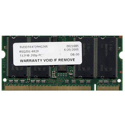 512MB 200p PC2100 CL2.5 8c 64x8 DDR SODIMM