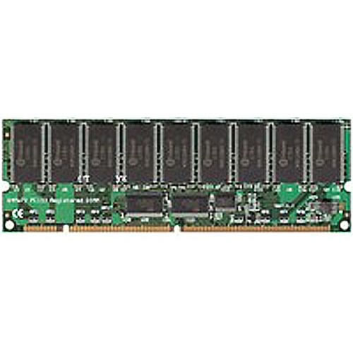 Gigaram GR256R18S168-75-MP7E 256MB 168p PC133 CL3 18c 16x8 Registered ECC SDRAM DIMM T028-RFB