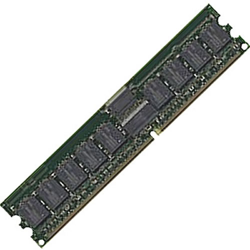 Micron MT18VDDF12872Y-40BF1 1GB 184p PC3200 CL3 18c 128x4 Registered ECC DDR DIMM T027-NOB