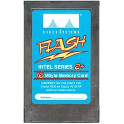 16MB PCMCIA Linear Series 2+ Flash Card