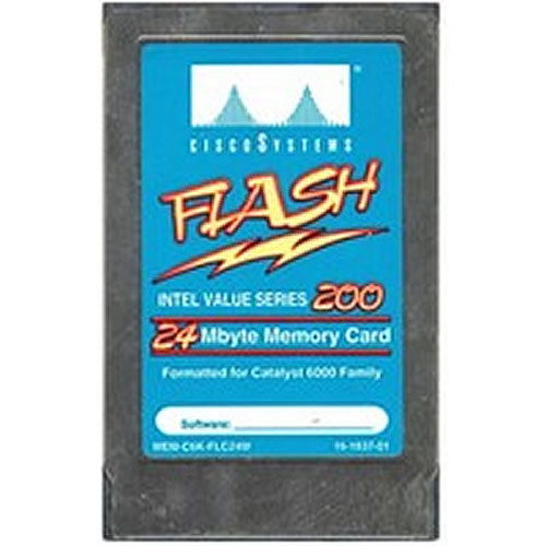 Cisco IMC024FLSG-15 24MB 68p PCMCIA Linear Series 200 Flash Card MEM-C6K-FLC24M