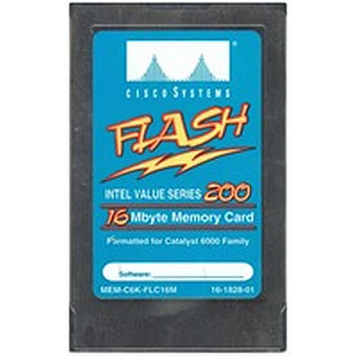 Intel/Cisco IMC016FLSG-15 16MB PCMCIA Linear Series 200 Flash Card