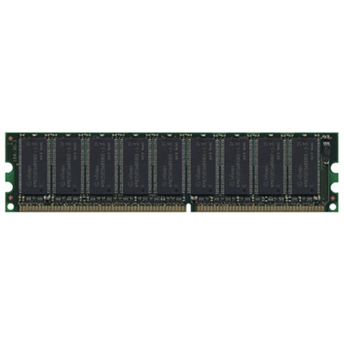 Gigaram  256MB 184p PC3200 CL3 9c 32x8 ECC DDR DIMM