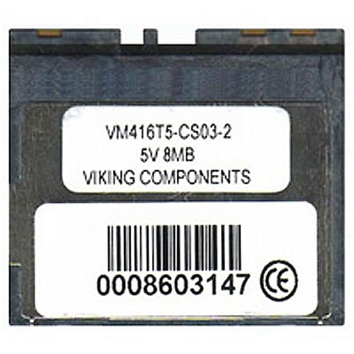 Gigaram  8MB 60p Mini Flash Card Cisco 1700 series only