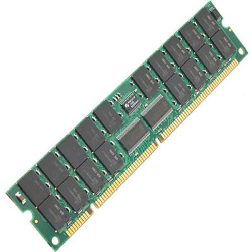 IBM 31P8300 1GB 168p PC133 CL2 36c 64x4 SDRAM 2Rx4 3.3V ECC 1.2in RDIMM  FRU 31P8420