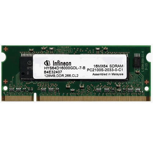 Gigaram APA 128MB 200p PC2100 CL2.5 4c