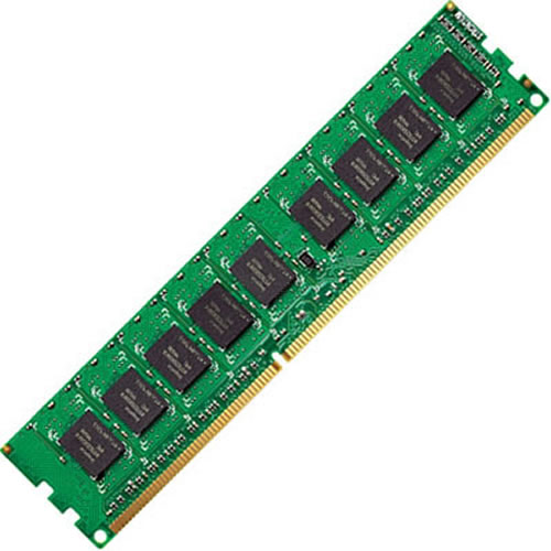 Elpida/Kingston KTD-DM8400BE/2G 2GB 240p PC2-5300 CL5 18c 128x8 DDR2-667 2Rx8 1.8V ECC UDIMM RFB