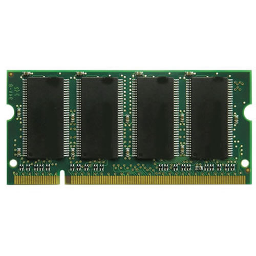 256MB 200p PC2700 CL2.5 4c 32x16 DDR SODIMM
