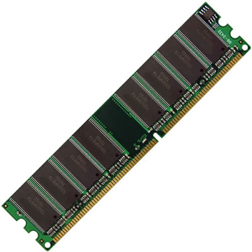 Gigaram  1GB 184p PC3200 CL3 16c 64x8 DDR400 2Rx8 2.5V UDIMM