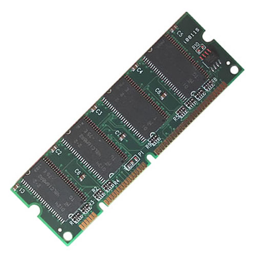 Gigaram  64MB 100p PC133 4c 8x16 SDRAM SODIMM Samsung CLP-500 ML-00MC - Not for Cisco