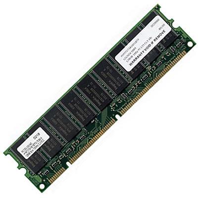 512MB 168p PC133 CL3 18c 32x8 ECC SDRAM DIMM, Sun, X6181A, 370-5678 RFB
